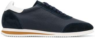 Brunello Cucinelli mixed fabric sneakers