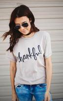 Ily Couture Thankful Tee - Stone