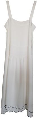 Jenni Kayne Ecru Silk Dress for Women