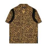 John Undercover Leopard Short Sleeve Shirt
