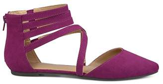 Brinley Co. Women's Mirin Flat Sandal