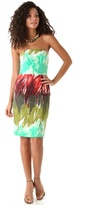 Brushstroke Kali Strapless Dress
