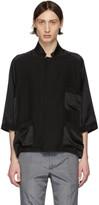 Haider Ackermann Black Short Sleeve Pyjama Shirt