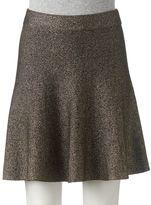Candies Juniors' Candie's® Lurex Sweater Skirt