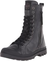 Palladium Women's Pampa Hi Rise L Zip Combat Boot