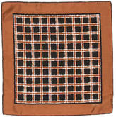 Tom Ford Checkered Silk Pocket Square