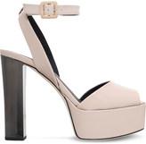 Giuseppe Zanotti Betty platform patent leather sandals