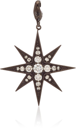 Have A Heart x MUSE Nancy Newberg Polished Ruthenium Eight Pointed Star Charm