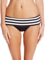 Seafolly Women's Coast To Coast Skirted Hipster Bikini Bottom