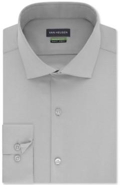 Van Heusen Men's Slim-Fit Non-Iron Performance Stretch Solid Dress Shirt