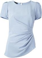 Emporio Armani plain T-shirt - women - Silk - 38
