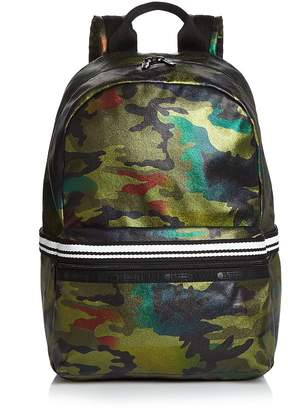 Le Sport Sac Jasper Metallic Camo Backpack