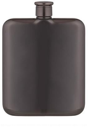 Davis & Waddell Fine Foods Summit Stainless Steel Hip Flask 170ml Gunmetal Grey