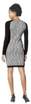Ultrasoft Mossimo® Women's Longsleeve Marl Sweater Dress - - Ebony/Gray Marl