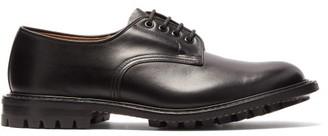 Tricker's Daniel Commando-sole Leather Derby Shoes - Black