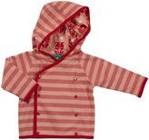 Little Green Radicals Jacket (Baby) - Coral/Polka Dot-3-6 Months