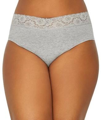 St. Eve Plus Size V-lace Hipster