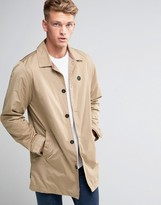 Le Breve Straight Trench Mac