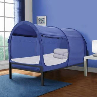 Zoomie Kids Rogers Dream Bed Canopy Color: Blue