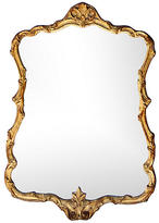 One Kings Lane Vintage Antique French Giltwood Mirror