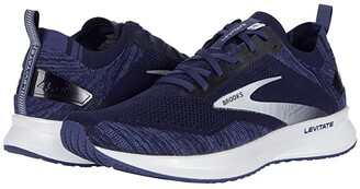 Brooks Levitate 4 (Grey/Oyster/Blue) Men's Running Shoes