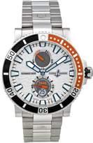 Ulysse Nardin Men's 263-90-7M/91 Maxi Marine Diver Titanium Dial Watch