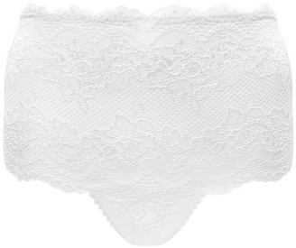 Mimi Holliday Picture Perfect High-Waisted Knickers Medium White