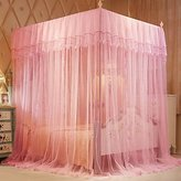 CXYY Home CXYY Palace Mosquito Net Holder with Floor Space Bracket Installation 180*180cm