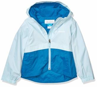 Columbia Girls Rain-Zilla Jacket Waterproof Fleece Lined