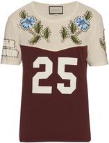 Gucci Cotton-jersey stud-embellished T-shirt