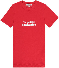 La Petite Francaise Red Tee - M/L - Red