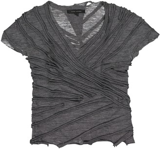 Marc Jacobs Grey Wool Top for Women