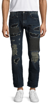 Diesel Black Gold Type-2510 Patched Slim Jeans