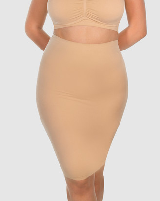 B Free Intimate Apparel - Women's Shapewear - High Waist Slip Skirt - Size One Size, S/M at The Iconic