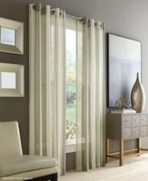 """J Queen New York Roosevelt Sheer 50"""" x 84"""" Grommet Curtain Panel"""