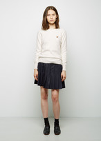 MAISON KITSUNÉ Pleated Wool Skirt