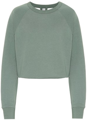 Alo Yoga Transcend cotton-blend sweatshirt