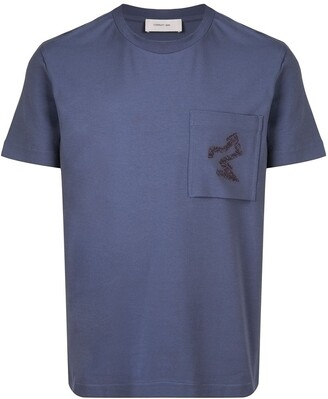 Cerruti chest pocket relaxed-fit T-shirt