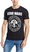 Bravado Men's T-Shirt Star Wars Seal - Black -