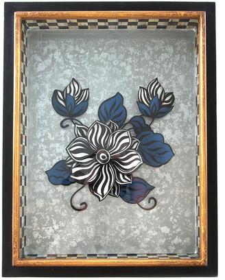Mackenzie Childs Avant-Garden Magnolia Shadow Box