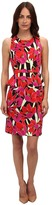 uncategorized  Who made Ariel Winters red floral dress and white aldo sandals?