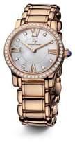 David Yurman Classic 30Mm 18K Rose Gold Quartz Watch With Diamond