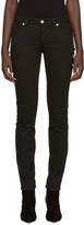 Versus Black Safety Pin Skinny Jeans
