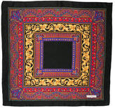 Saint Laurent Silk Ikat Printed Scarf