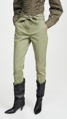 Derek Lam 10 Crosby Leda Tie Waist Trousers