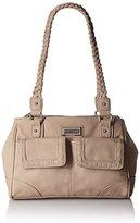 Rosetti Just Stitched Satchel Shoulder Bag
