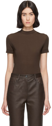 The Row Brown Elan T-Shirt