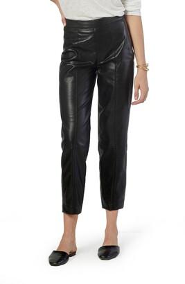Joie Bianca Faux Leather Crop Pants