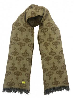 Vivienne Westwood Yellow Wool Scarves
