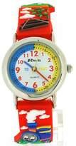 Ravel Funtime Boys 3D Choo Choo Train Design Time Teacher Strap Watch R1513.62